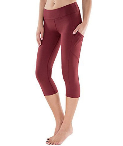 Reflex High Waist Yoga Capris with Side Pocket