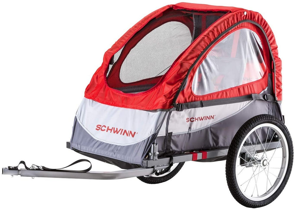 Schwinn Trailblazer Bike Trailer for Toddlers & Kids