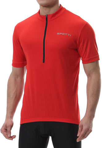 Spotti Short Sleeve Bike Jersey with Rear Pockets | RWA Sportswear