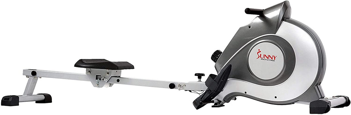 Sunny Health 5515 Magnetic Rowing Machine Rower w/ LCD Monitor