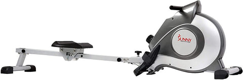 Sunny Health 5515Magnetic Rowing Machine Rower w/ LCD Monitor