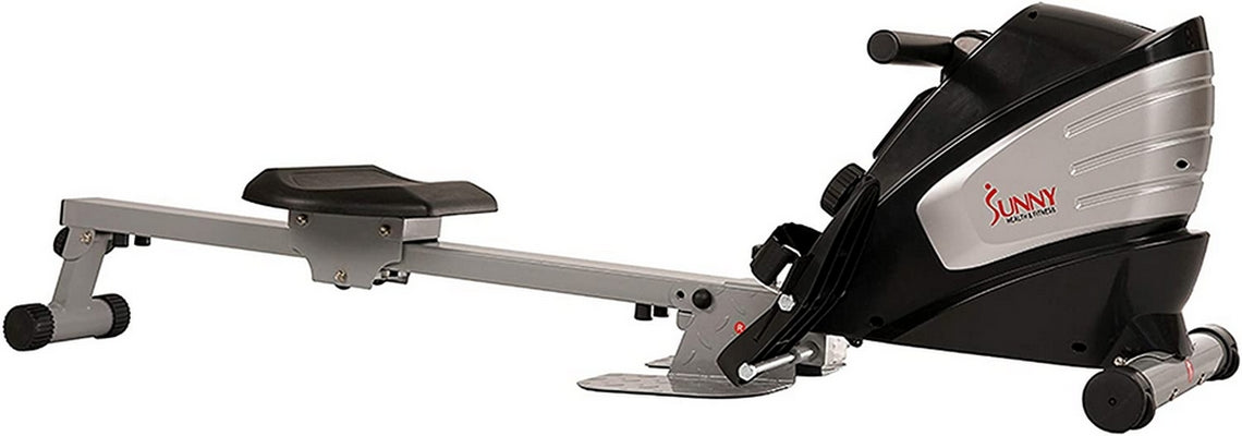 Sunny Health Dual Function Magnetic Rowing Machine w/ Digital Monitor