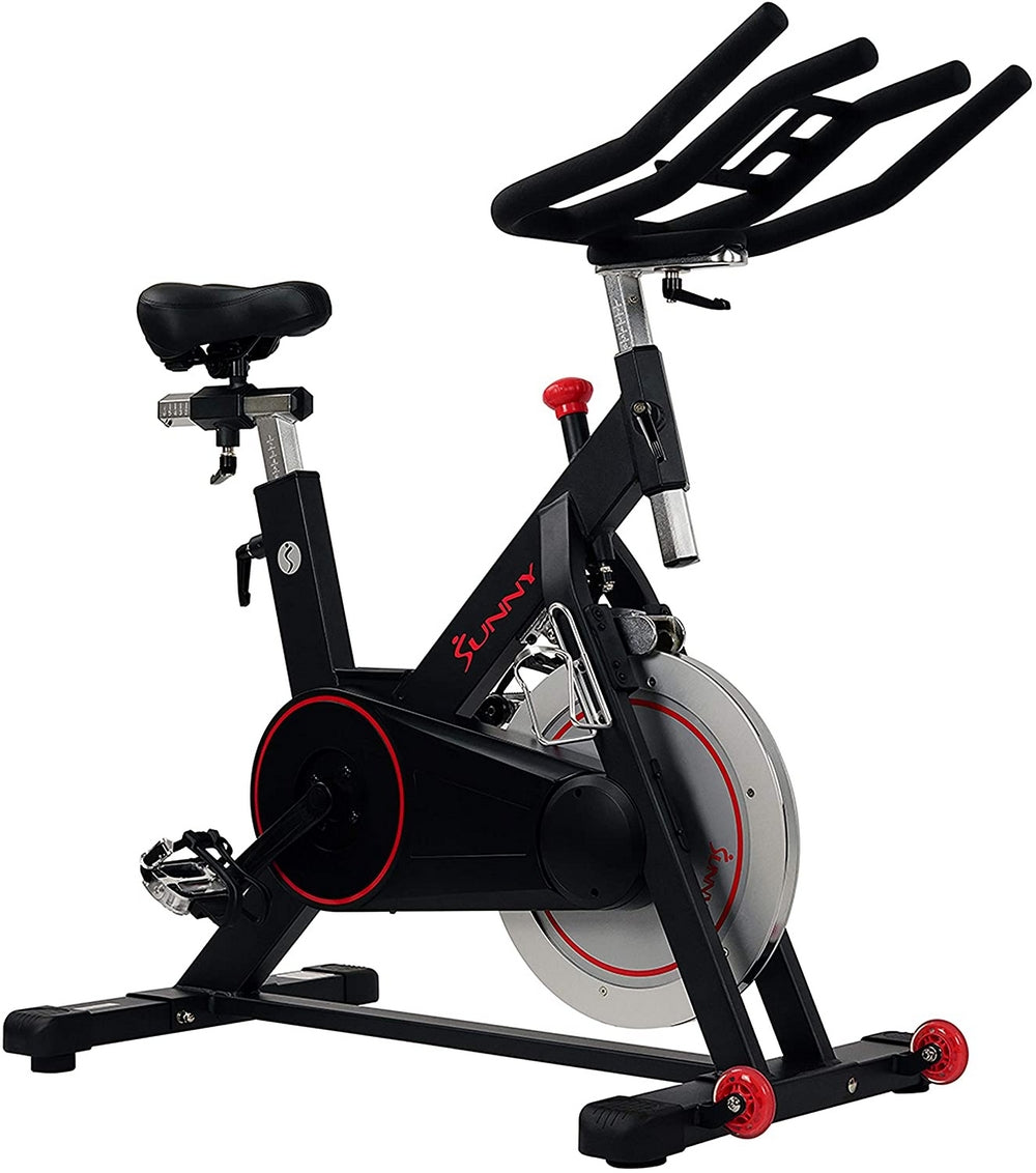 Sunny Health & Fitness B1805 Magnetic Belt Drive Indoor Cycling Bike