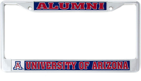 University of Arizona Wildcats Metal License Plate Frame