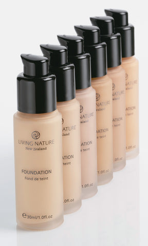 Living Natur Foundation, 30ml
