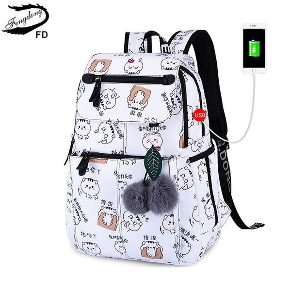 Kids USB Charging Bag