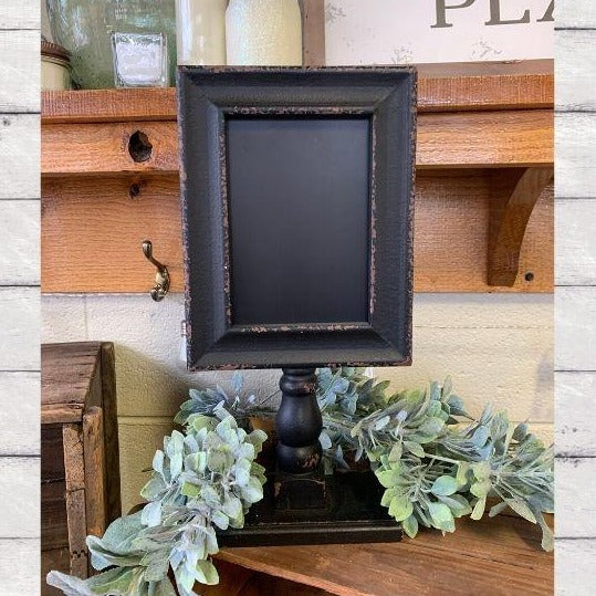 Black Framed Chalkboard
