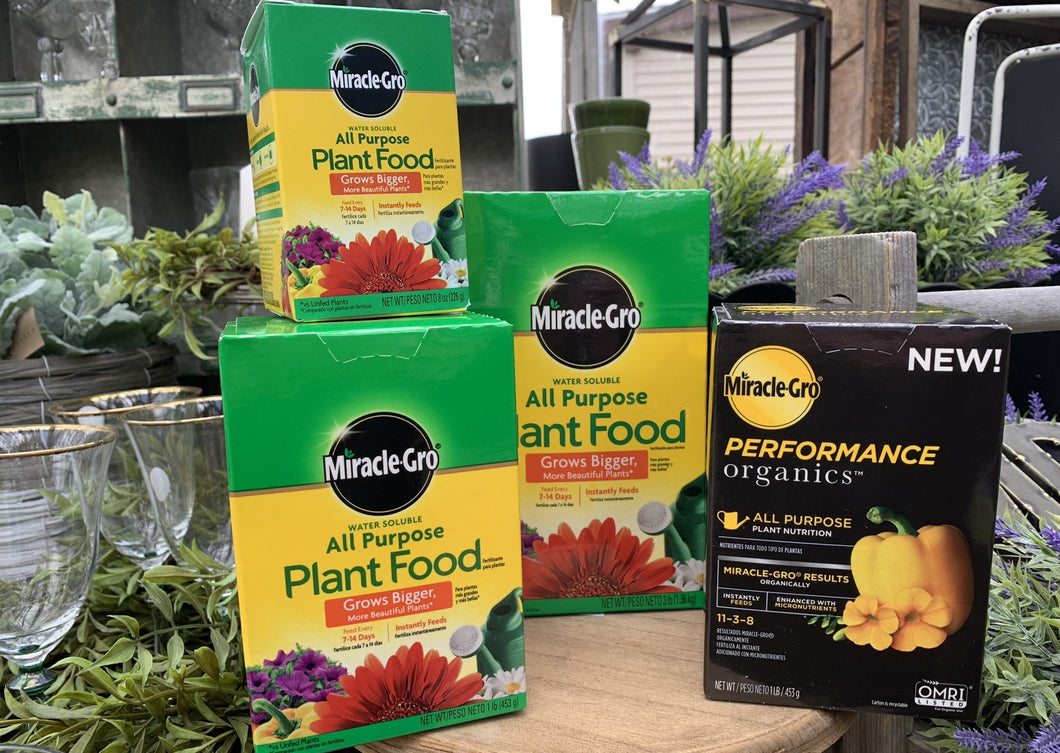 Miracle Gro Plant Food