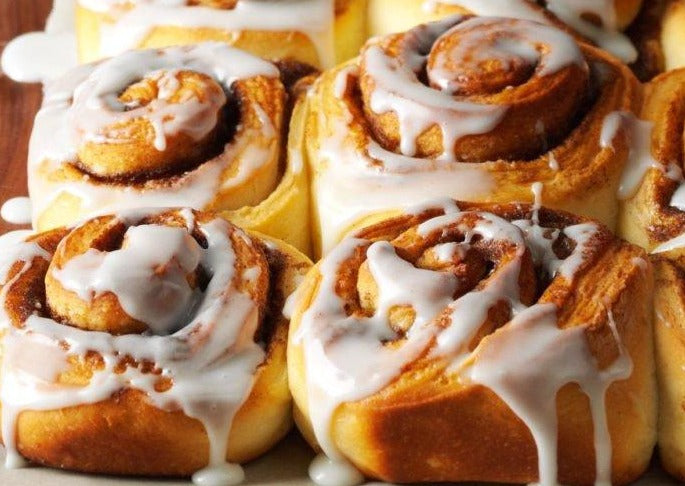 Iced Cinnamon Rolls (Pack of 4)