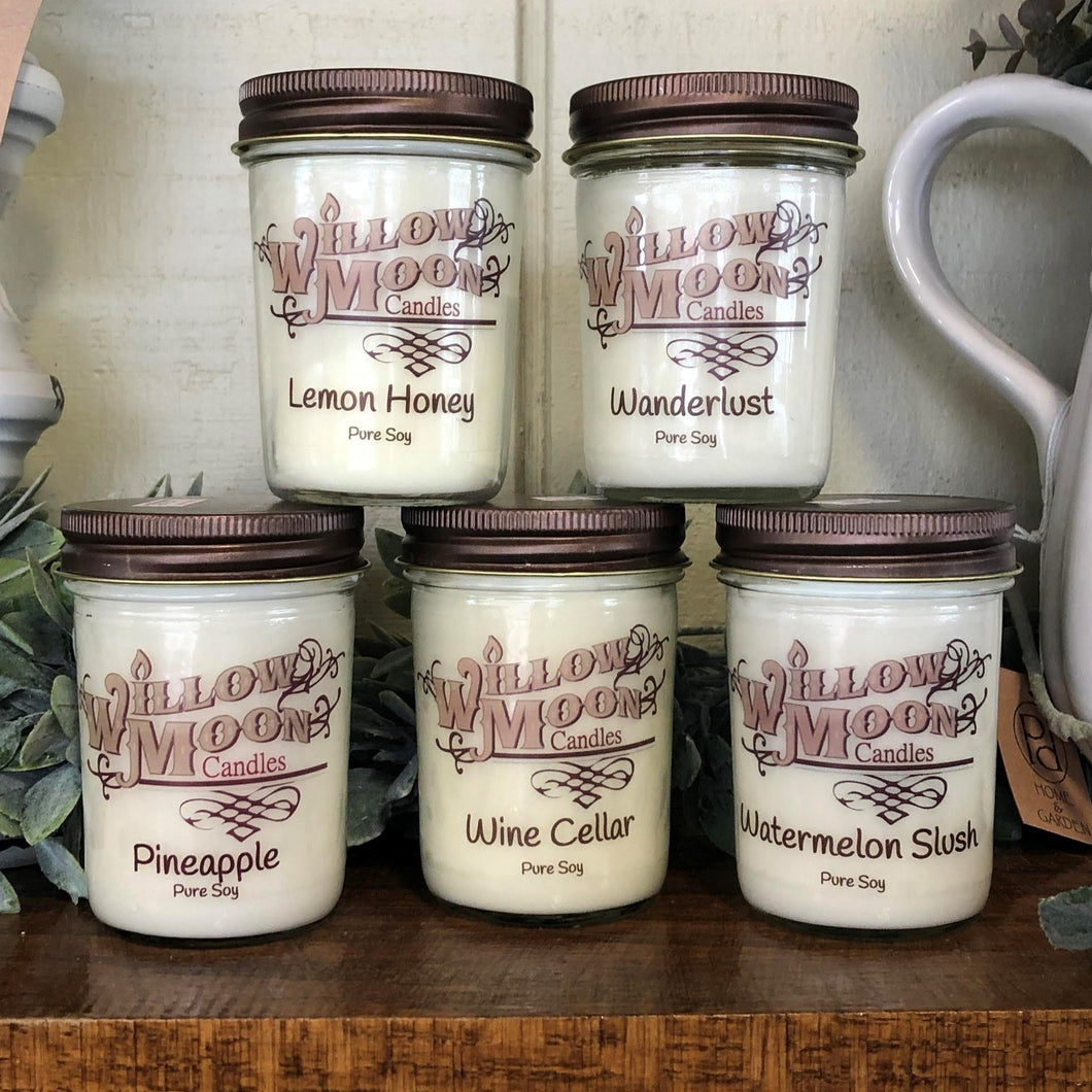 Willow Moon Candles - 8 ounce