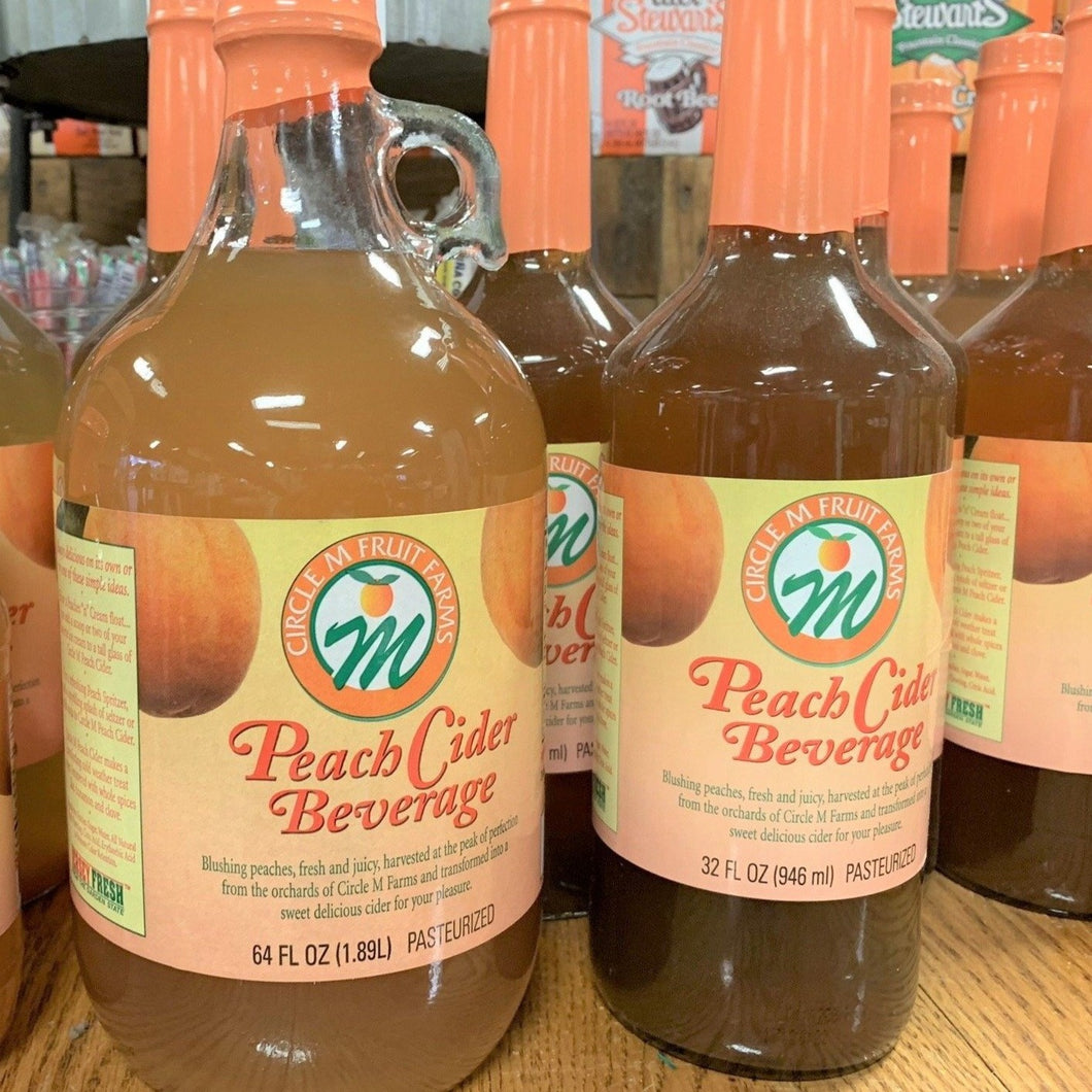 Circle M Farms Peach Cider