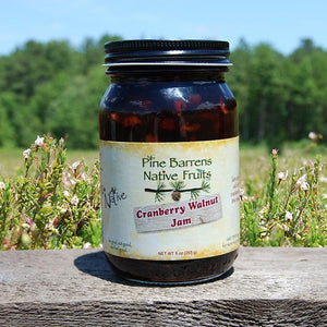 Pine Barrens Fruits Cranberry Walnut Jam
