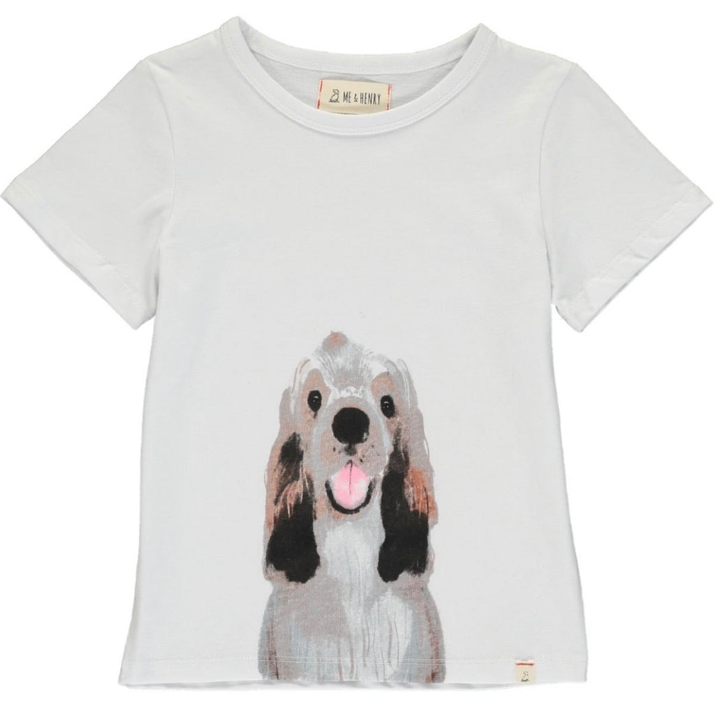 Boy puppy dog T-shirt Henry