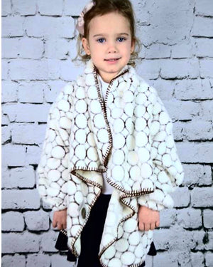 Boy girl wearable robe blanket