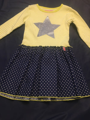 Baby Girl handmade star dress