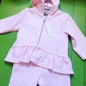 Baby girl track suit set 3m