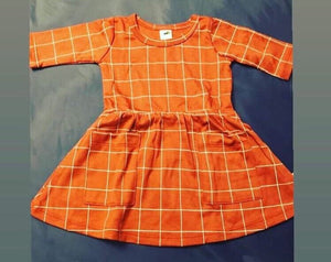 Baby Bamboo shirt and dress rust
