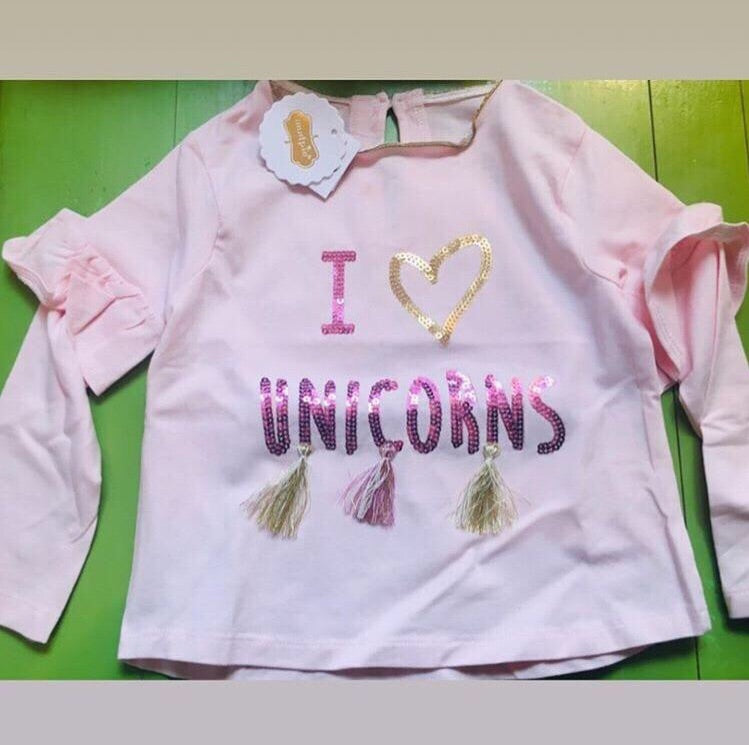 Girl I love unicorns shirt