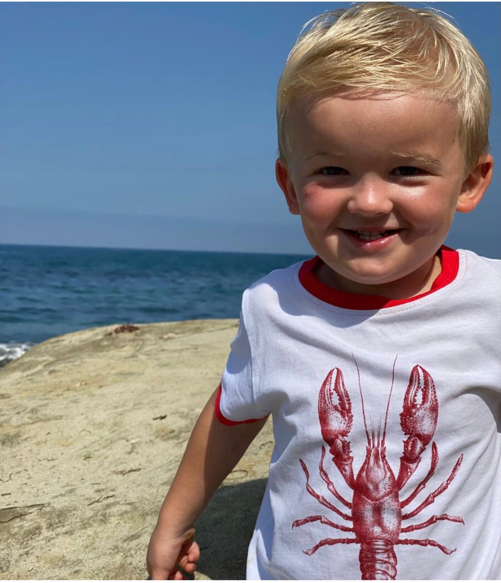Boy lobster T-shirt