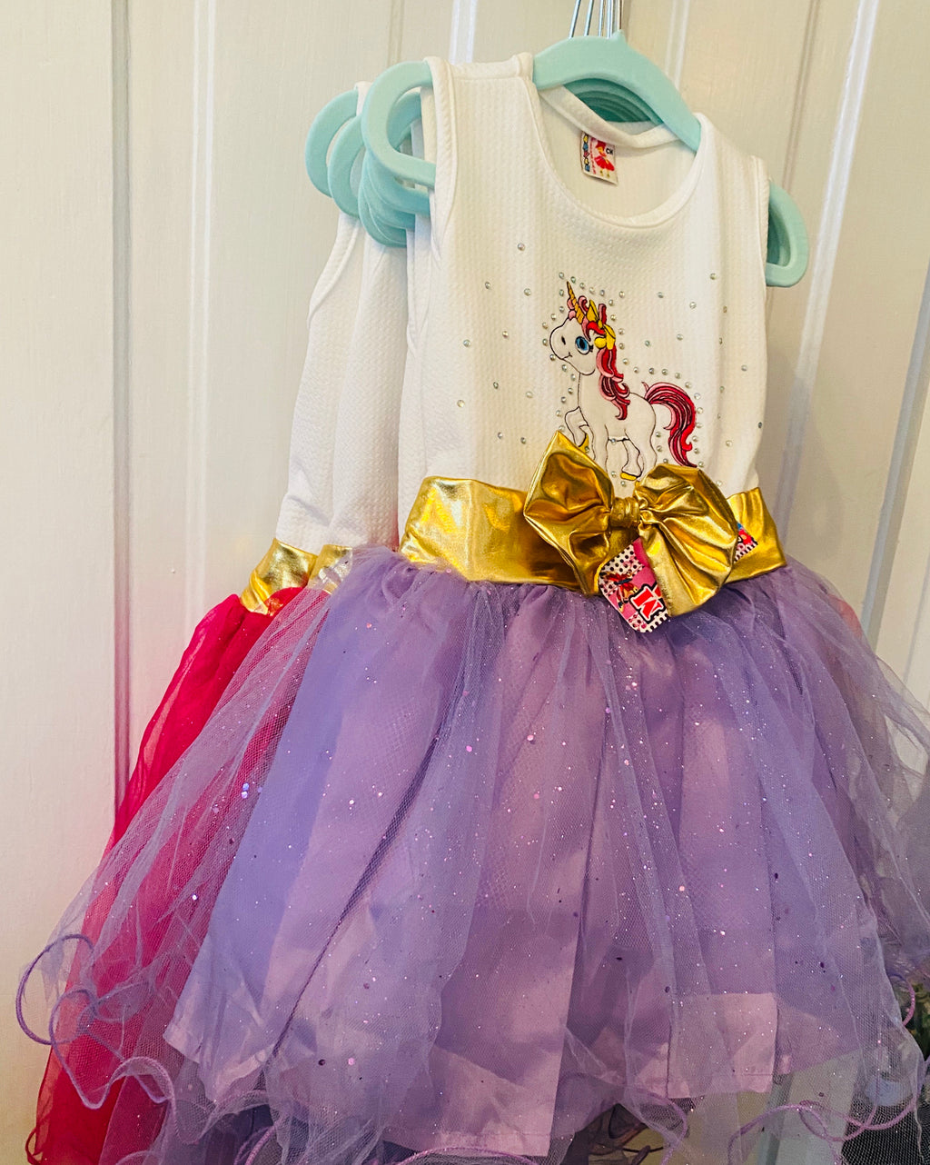 Girl unicorn tutu dress
