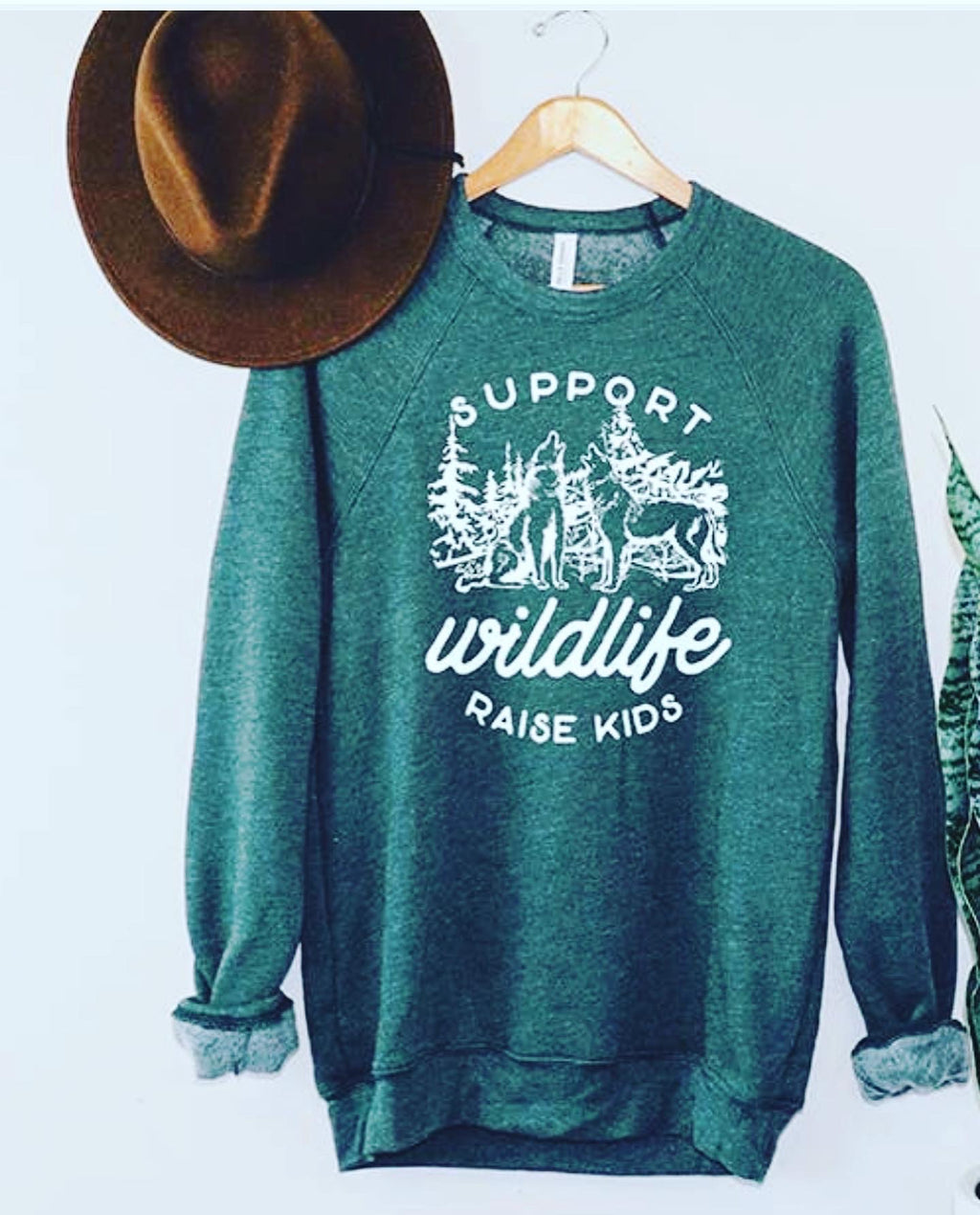 Raising kids sweatshirt