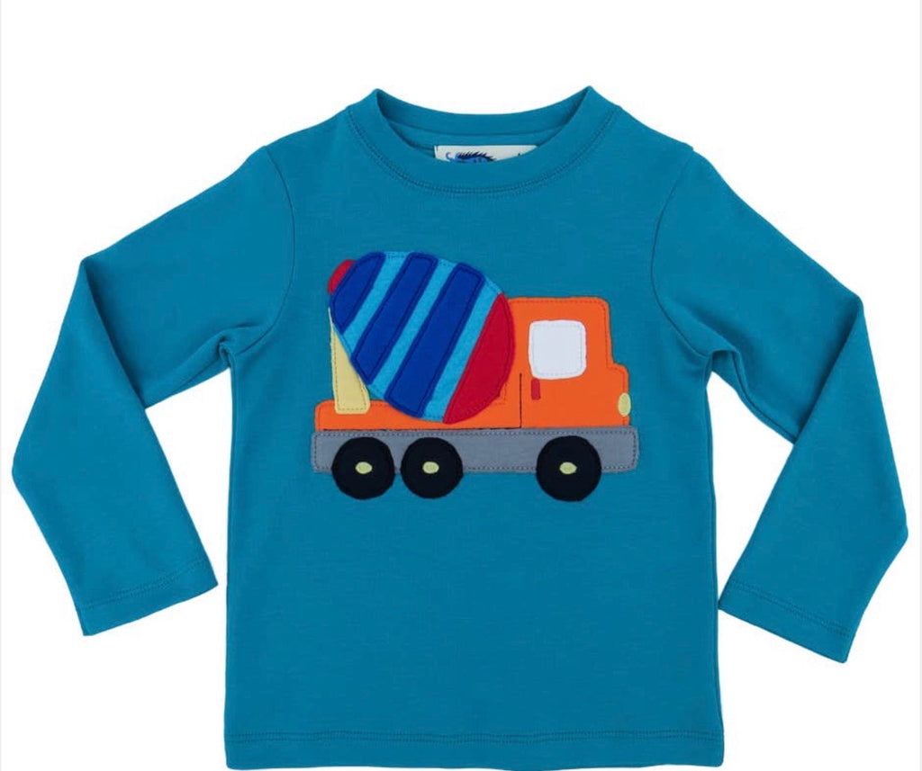 Boy Cement Truck Shirt