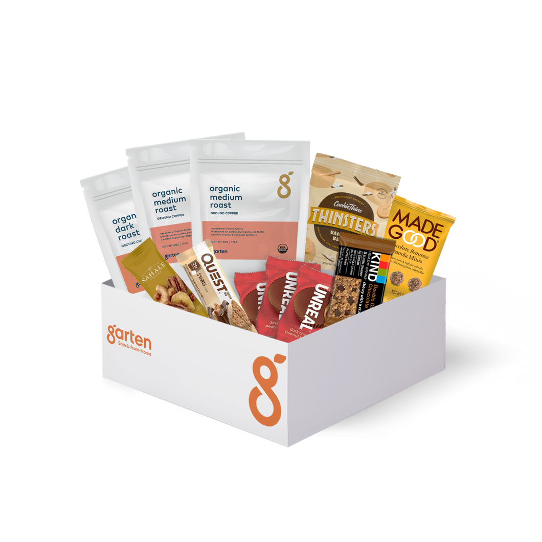 Coffee Snack Box