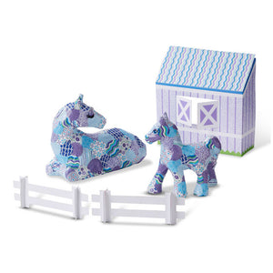 Decoupage Made Easy Deluxe Craft Set - Horse + Pony