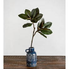 Load image into Gallery viewer, Magnolia Leaves w/ Buds Stem