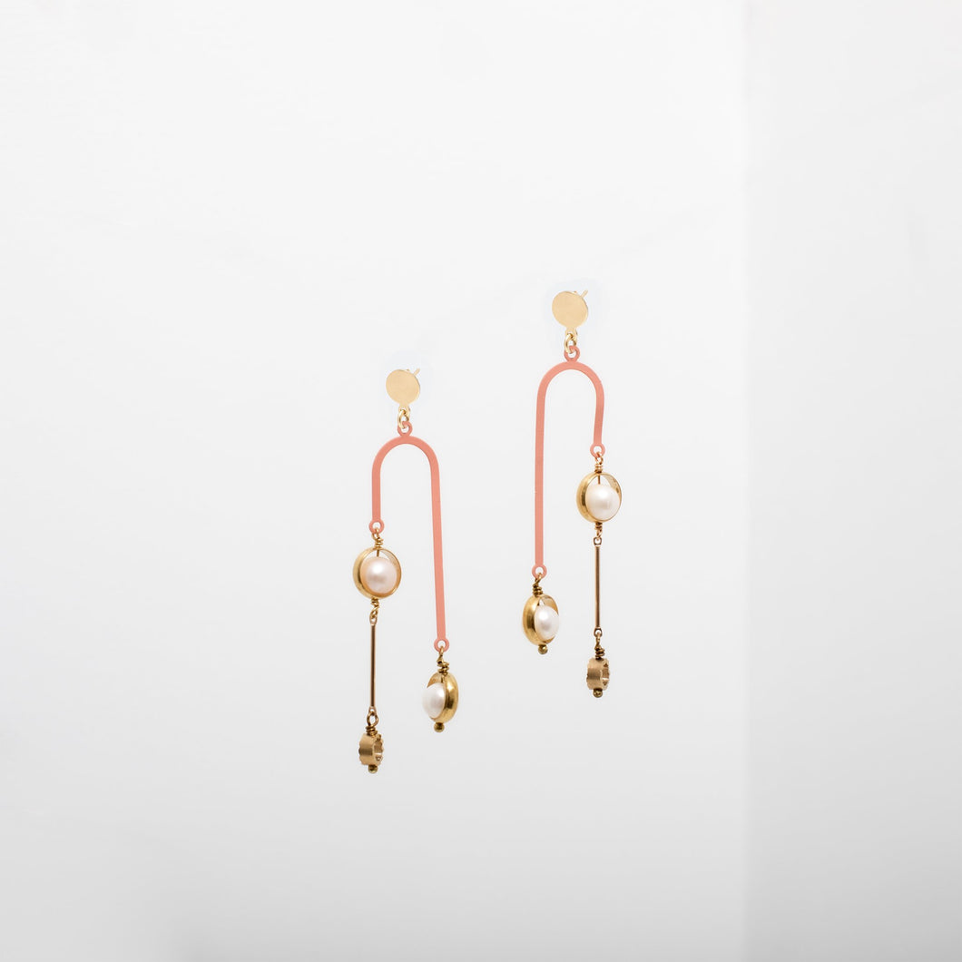 Larissa Loden Tionne Earrings - Pink