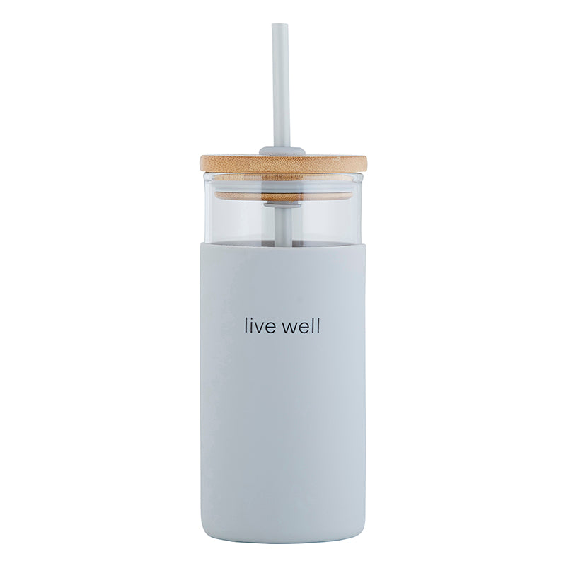 Glass Tumbler - Live Well