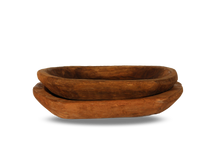 Load image into Gallery viewer, Wooden Dough Bowl