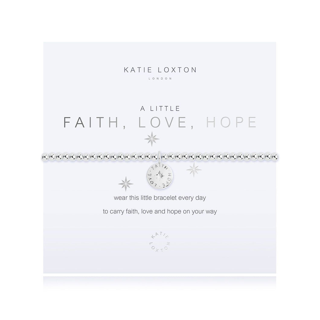 A Little Faith, Love, Hope Bracelet