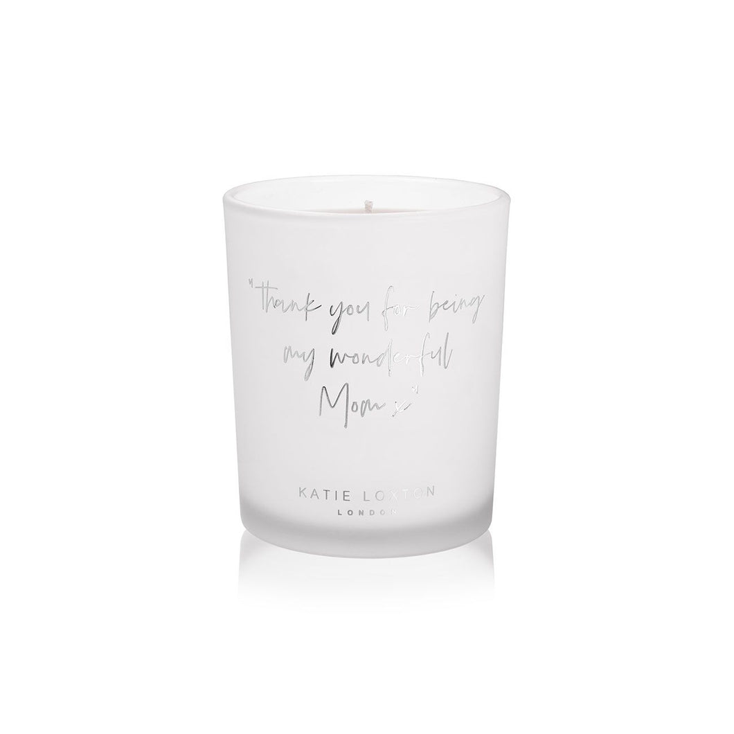 Thank You for Being My Wonderful Mom X Candle | Citrus Ocean