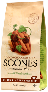 Cocoa Chocolate Chip Scone Mix