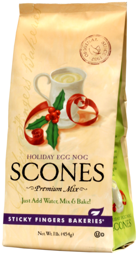 Holiday Eggnog Scone Mix