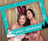 """Winter Wonderland ""-Theme  Party Selfie Photo Booth Picture Frame and Props - Printed on Sturdy Material"