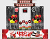 "Combo Kit -""Movie Theme "" Decoration Kit with Foil Curtain (Boys)"