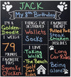 Chalkboard Sign Photo Prop Birthday Decoration