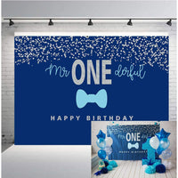 """""""One Is Fun"""" Birthday Party Backdrop For Photography Banner Kids Event Cake Table Decor Home Decoration Photo Booth Background"""