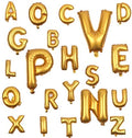 16 inch P Alphabet Letter Balloons Birthday Balloons Gold Foil Letter Balloons Birthday Party Decorations Kids