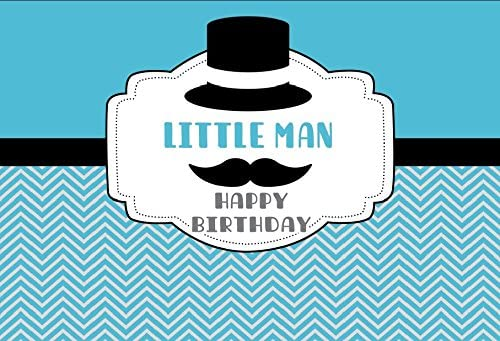 LITTLE MAN BIRTHDAY PARTY BACKDROP FOR PHOTOGRAPHY BANNER KIDS EVENT CAKE TABLE DECOR HOME DECORATION PHOTO BOOTH BACKGROUND