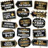 Props Set for Retirement Party Photo Props - Pack of 15