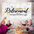 RETIREMENT PARTY BACKDROP FOR PHOTOGRAPHY BANNER EVENT CAKE TABLE DECOR HOME DECORATION PHOTO BOOTH BACKGROUND