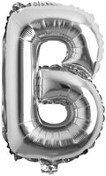 16 inch B Alphabet Letter Balloons Birthday Balloons Silver Foil Letter Balloons Birthday Party Decorations Kids