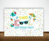 TWO COOL- BIRTHDAY PARTY BACKDROP FOR PHOTOGRAPHY BANNER EVENT CAKE TABLE DECOR HOME DECORATION PHOTO BOOTH BACKGROUND