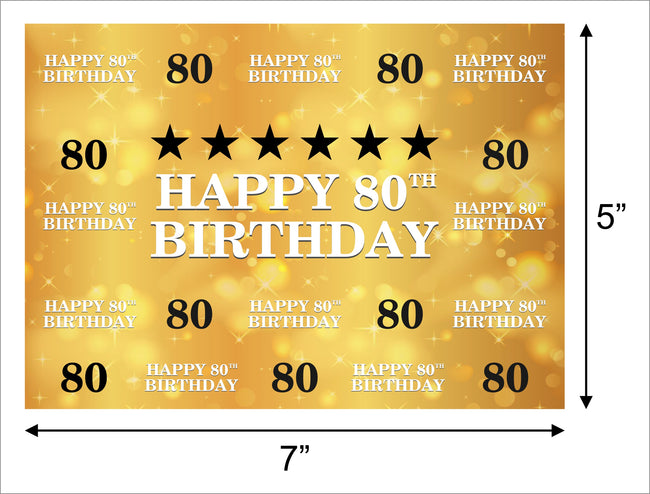 BIRTHDAY PARTY BACKDROP FOR PHOTOGRAPHY BANNER EVENT CAKE TABLE DECOR