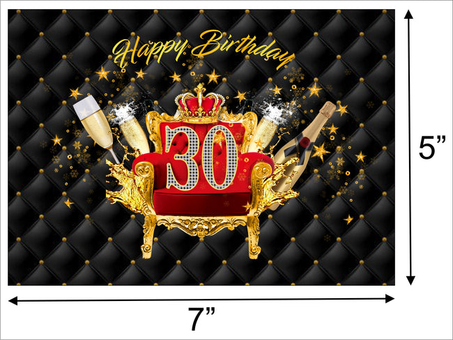 Birthday Party Backdrop For Photography Banner Event Cake Table Decor Home Decoration Photo Booth Background