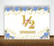 """1/2 Birthday"" -  BIRTHDAY PARTY DECORATIONS - LARGE CONFETTI  - Set of 27"