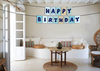 """""""One Is Fun """" Boys Birthday Banner For Decoration"""
